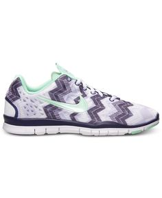 Nike Women s Free TR Print 3 Training Sneakers from Finish Line Shoes -  Finish Line Athletic Sneakers - Macy s 7687280f71a7