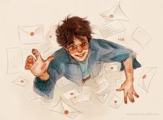 The Letters From No One ⚡ by Natello's Art   Harry Potter