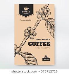 Denys Koltovskyi's Portfolio on Shutterstock Coffee Packaging, Coffee Branding, Food Packaging, Packaging Design, Branding Design, Engraving Illustration, Coffee Illustration, Coffee Market, Coffee Box