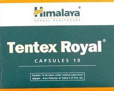 10 X Himalaya Herbal Tentex Royal 100 Capsules Free Shipping worlds #HimalayaHerbal