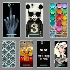 For Sony Xperia C3 CASE, Hard Plastic Case Cover For Sony Xperia C 3 C3  C3 Dual  D2502 S55T S55u D2533 Phone Case Cover