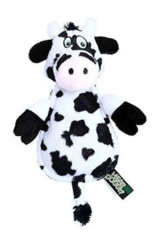 WhiteBlack Cow Chew Guard Technology  Double Stitched Dog Toy -- Be sure to check out this awesome product.