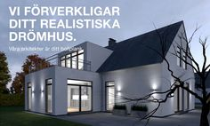 Bygga arkitektritade hus stenhus villa garage typhus i Skåne   Reformhus Malmö