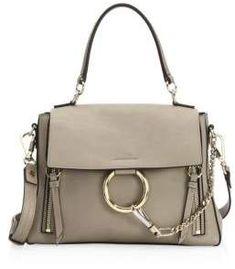 Chloe Faye Small Leather Shoulder Bag Designer Handbag Brands Handbags