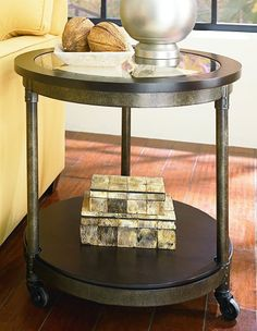 End Table in Heavily Distressed Brown Universal Lighting and Decor http://www.amazon.com/dp/B008A0WXIE/ref=cm_sw_r_pi_dp_QDC6vb13QJ5VQ