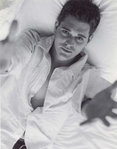 Michael Buble: It looks like he wants you to come to bed with him!