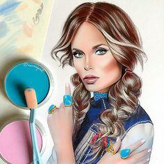 Amazing Illustrated Portraits by Natalia Vasilyeva