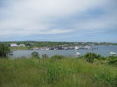 Harbor looking toward the boat basin and oar via Flickr