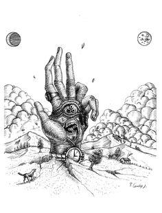 "Echa un vistazo a mi proyecto @Behance: ""The sinister hand"" https://www.behance.net/gallery/60259785/The-sinister-hand"
