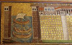 L'antico porto di Classe nei mosaici di Sant'Apollinare Nuovo