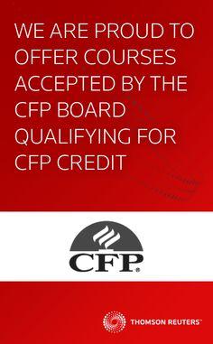 CFP Board CFP Course Catalog | WebCE