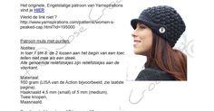NL vertaling haakpatroon Peaked Cap - José Crochet.pdf
