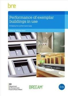 This report reviews the operational performance of three public-sector office buildings designed to achieve energy and water efficiency over the longer term, based on a study carried out in 2010 2012. The study, funded by BRE Trust, the Cabinet Office and the Department for Environment, Food and Rural Affairs (Defra), highlights the benefits and challenges of environmental design in relation to the building handover process and the management of facilities.