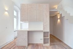 Modern Micro Apartment with Efficient Spatial Design - Berlin, Germany