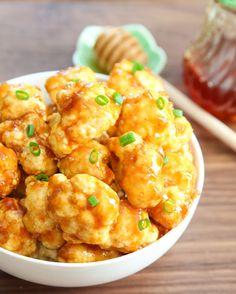 Roasted Honey Garlic Cauliflower | Kirbie's Cravings | A San Diego food & travel blog