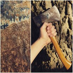 Learn how to use traditional restoration techniques to turn a rusty flea market find into a useful hatchet.