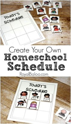 Free Create Your Own Homeschool Schedule with Printables