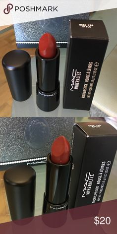 "Mac lipstick ""Nose for style"" color, new in box, 100% authentic MAC Cosmetics Makeup Lipstick"