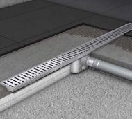 → Podlahový žlab RIHO bez příruby - řada C, délka 585 mm, 50 mm sifon Shower Drain, Design, Stainless Steel