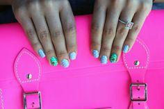 polka dot nails @Ashley Brandriet