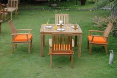 Anderson Teak Brianna Dining Set w/ 47 inch Table by Anderson Teak. $2534.00. Anderson Teak is a manufacturer specialized in Teak Garden Furniture. We have more experience than any other company in this field. We make the furniture from kiln dried first grade plantation grown teakwood (Tectona Grandis) from the legal sources in Indonesia. We only use marine grade brass and stainless steel fittings for our furniture. Our furniture is manufactured with a higher st...
