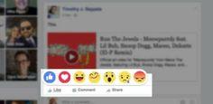 """Para quem estava pessimista sobre os rumores de um botão """"Não curti"""" no Facebook, uma boa notícia. Nesta quinta-feira, 8, a rede social anunciou a criação do """"Reactions"""", uma extensão com 6 emoticons que dará ao usuário a oportunidade de expressar diferentes emoções nos conteúdos da rede social.  Em português, os novos emoticons vão se chamar: """"adorei"""", """"engraçado"""", """"feliz"""", """"chocado"""", """"triste"""" e """"com raiva"""", em tradução livre."""