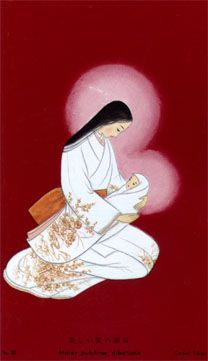 Japanese madonna. ~Merry Christmas to all from ~AmyLH~