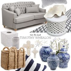 A selection of Alfresco Emporium products to get the coastal look.