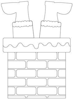 Christmas Templates for Eva and Feltro - # for - Joyeux Noel Christmas Activities, Christmas Printables, Printable Christmas Templates, Free Printable, Felt Christmas, Christmas Ornaments, Christmas Treat Bags, Christmas Stencils, Theme Noel