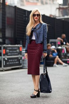 Feeling nostalgic–street style looks that still inspire today. Click here for more.
