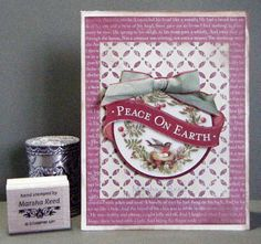 Coffee Pot Stamping Cafe: Sunday Christmas Card Challenges #38