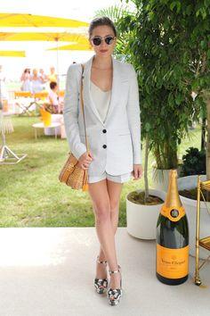 Como se vestir para uma festa do champagne - Fashionismo