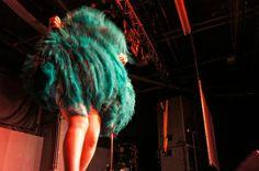 Pole Dance and Burlesque Show 2013. Feathers, Sheffield Hallam University. Photographer. - Hayley Clare Lightfoot