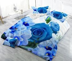 new 2016 bedding four home fashion sets King size bedclothes HD bed linen bed sheets pillowcases Yellow Bedding Sets, Nursery Bedding Sets Girl, 3d Bedding Sets, Satin Bedding, Floral Bedding, Luxury Bedding, Comforter, Linen Bed Sheets, Linen Duvet