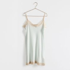 Sleeveless Nightgown with Lace - Woman - Loungewear & shoes | Zara Home United States