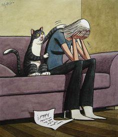 Illustration by Franco Matticchio Crazy Cat Lady, Crazy Cats, Illustration Art, Illustrations, All About Cats, Cat Drawing, Cat Art, Cats And Kittens, Cute Cats
