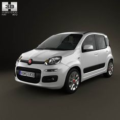 Fiat Panda 2012 3d model from humster3d.com. Price: $75