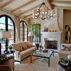 Charming Mediterranean Living Room Design (36)