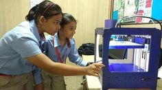 Makers lab: Children also use 3D printers to bring their favourite toon…