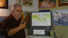 ΣχεδιαΖΩγραφίζω ένα δάσος στα Ρεστά/ Painting a wood at Resta Watercolors, Watercolor Paintings, Me Tv, Tv Shows, Water Colors, Watercolour Paintings, Watercolor, Watercolor Art, Tv Series