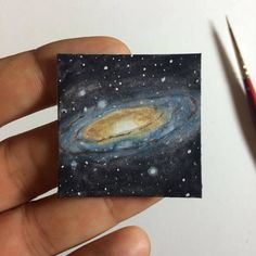 Diy canvas art 769060073850856185 - Day 52 Towards the insignificant – # Source by Small Canvas Paintings, Small Canvas Art, Mini Canvas Art, Mini Paintings, Diy Canvas, Art Inspo, Inspiration Art, Galaxy Painting, Galaxy Art