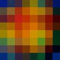 "Magic Square (Oil on wood panel, 60cm x 60cm, Dirk Marwig 2013) http://dirkmarwig.com/    ""Paintings"""