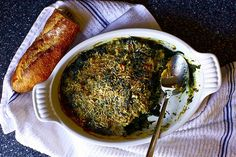 ulia's Child's Spinach Gratin with Cheese
