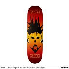 Zazzle Cool designer skateboard