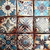 Azulejos estilo SAMARCANDA.