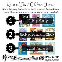 Oldies game answers Usborne