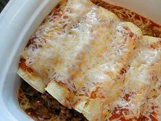 Easy Chicken or Beef Enchiladas