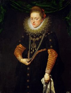 Portrait of Archduchess Constance of Austria by  Frans Pourbus the Younger, ca. 1603/1604 (PD-art/old), Kunsthistorisches Museum