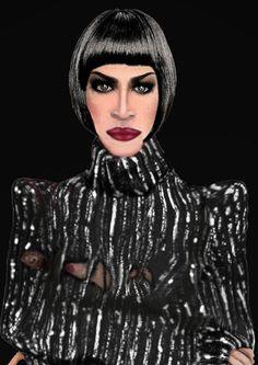 """Herr Seih"" Modelo: Jazz Marie Koninger Diseño: Pedro Garsan Maquillaje y peluquerÍa: Peal and Dhuska Fotografía: K-Mara oscura"