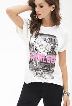 Spoiled Graphic Tee | FOREVER 21 - 2000118441